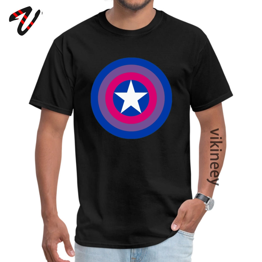 Japan ized Captain <font><b>Bisexual</b></font> Tops <font><b>Shirts</b></font> for Men Cheap Round Neck Cotton Short Steven Universe T <font><b>Shirt</b></font> Hip hop Tee <font><b>Shirt</b></font> image