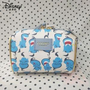 Image 5 - Disneys New Travel Cosmetic Bag Clutch Aladdin Women Make Up Bag Girls Pouch Makeup Travel Wash Storage Bag Luxury Handbag