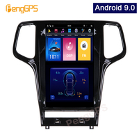 13.6 Android 9.0 Tesla Vertical Screen for Jeep Grand cherokee 2010 2018 Car Player GPS Navigation Audio Player Headunit