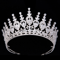 Crown HADIYANA Vintage Creative New Style Charming Temperament For Lady Wedding Hair Jewelry Cubic Zirconia BC5147 Sombreros