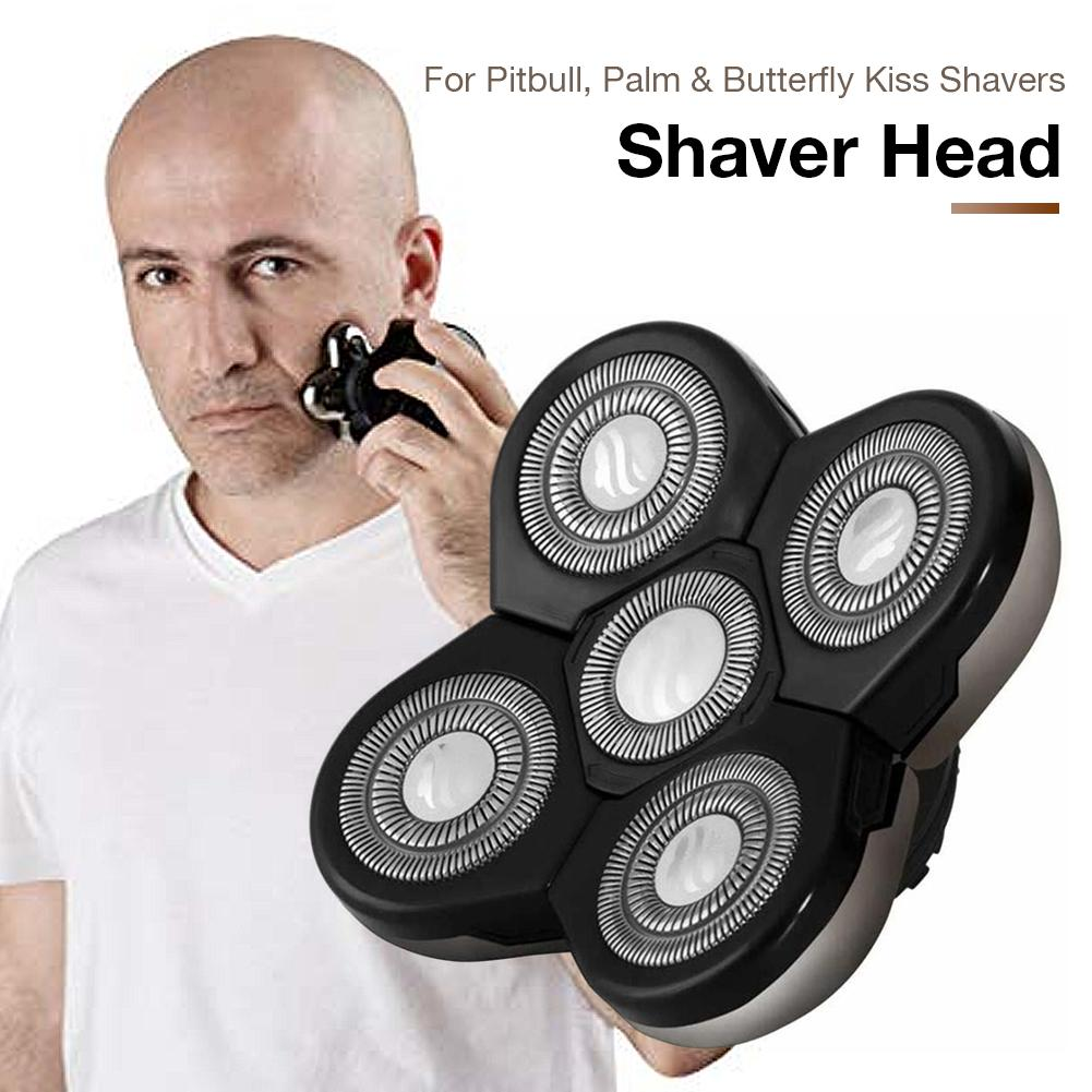 Replacement Shaver Heads Pitbull,Palm & Butterfly Kiss Shavers,skull Shaver Electric Shaver 5D Independently Floating Head 35p