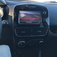 Ccd retrovisor estacionamento reverso câmera para renault clio 4 iv 2012 ~ 2018 dc 12v monitor de estacionamento automático à prova dwaterproof água 170 graus vídeo hd