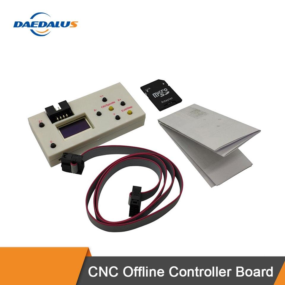 Daedalus Автономный контроллер плата GRBL 3 оси CNC контроллер экран плата для PRO 1610/2418/3018 гравер машина