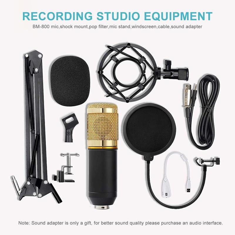 Купить конденсаторный микрофон с подставкой ударопрочное оборудование