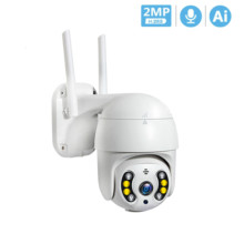 1080P PTZ Wireless IP Camera Waterproof 4X Digital Zoom Speed Dome Super Mini WiFi Security CCTV Camera Audio AI Human Detection