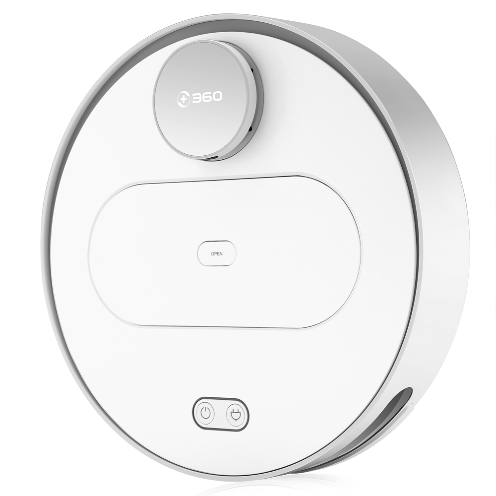 360 S6 Robotic Vacuum Cleaner Cleaning Robot Automatic Remote Control 1800Pa Suction Smart Home Control