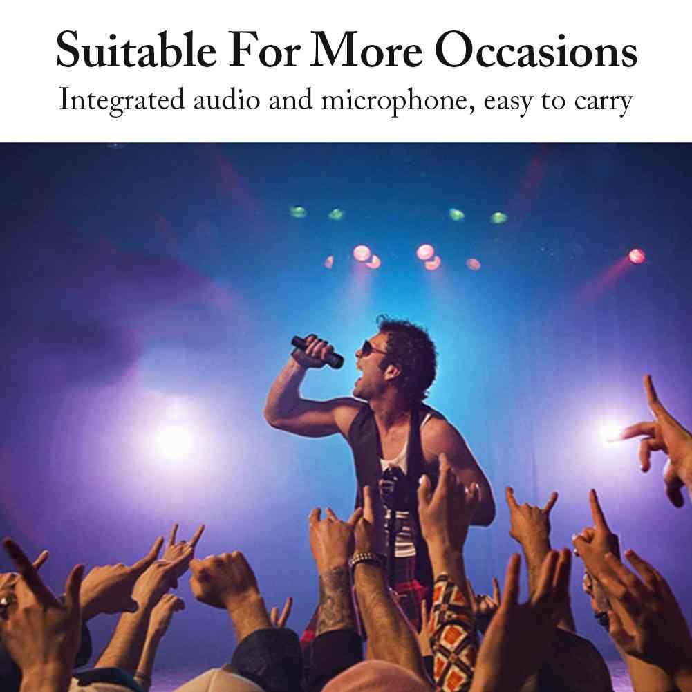 Micrófono inalámbrico Q008 con USB, micrófono condensador profesional para Karaoke, soporte Bluetooth, Radio, micrófono para grabación de estudio