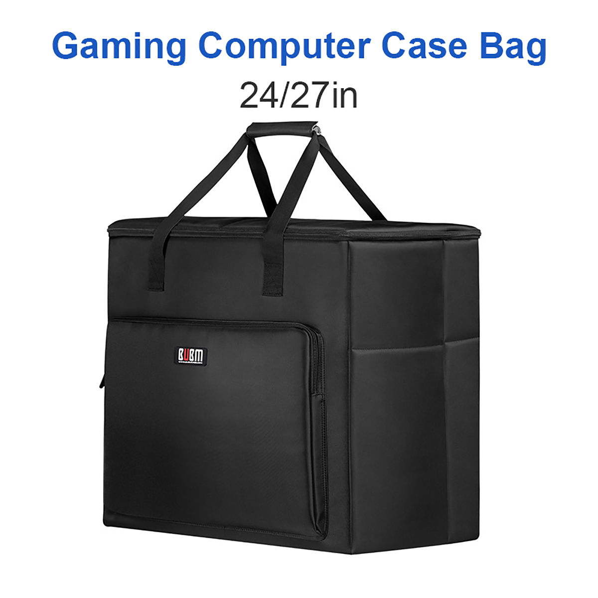 Desktop PC Computer Travel Storage Carrying Case Bag For Computer Main Processor Case Monitor Keyboard And Mouse