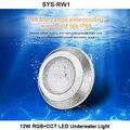 MiBOXER DC24V 12 Вт RGB + CCT светодиодный подводный светильник  водостойкая IP68 подчиненная лампа  1 CH хост-контроллер  1 CH сигнальная мощность