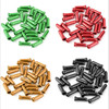 10pcs/lot MTB Mountain Bicycle Line Tube Tail Tail-hat Gearbox Brake Shift  Wire Cap Aluminum Alloy Colorful Cables Cover