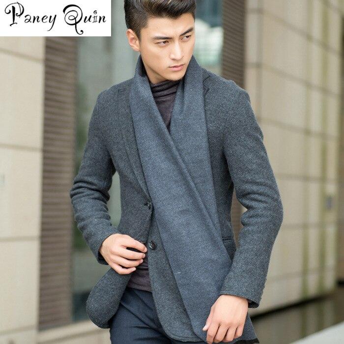 180*30CM Men's Scarves Autumn Winter Velvet Scarves Pure Color Men's Necks Cashmere Scarf Couple's High Quality Warm Long Scarf