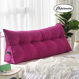 Image 3 - Chpermore High grade Luxury Simple bed cushion double sofa Tatami Bed soft bag Removable Bed pillow For Sleeping