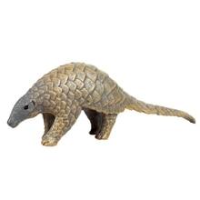 Toys Doll-Ornaments World-Simulation Plastic Pangolin Figurine Puzzle Wild-Animal Children