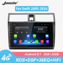 "Jantee R9 10 ""Radio de coche para Suzuki Swift 2005-2016 4G Red Wifi Android 8,1 pantalla táctil reproductores de vídeo multimedia con marco(China)"