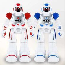 Induction Intelligent Remote Control Robot Children Educational Toys Early Kids Smart Toys with Music Talking Walking Function(China)