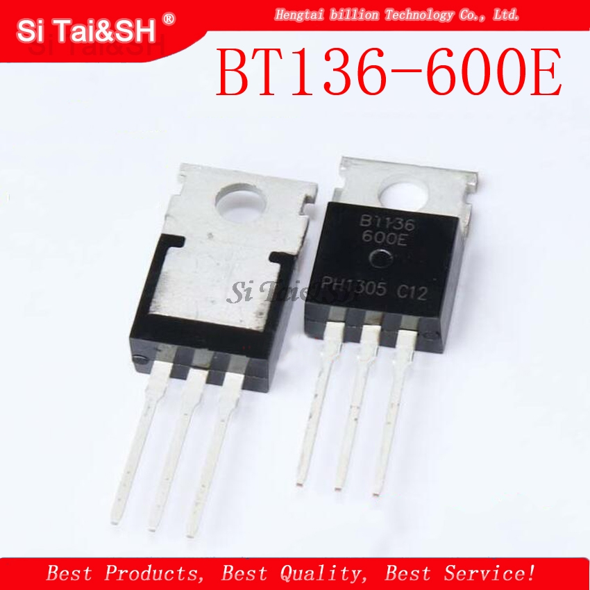1pcs/lot BT136-600E BT136 BT136-600 TO-220 600V 4A