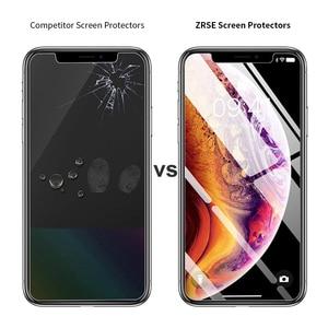 Image 5 - ZRSE [3 Pack] Verre Trempé Protecteur Décran En Verre pour iPhone X iPhone XS iPhone XS Max XR 11 Pro Max 5 6 S 7 8 Plus