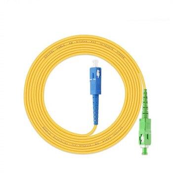 10PCS/lot SC/ UPC-SC/ APC Simplex mode LSZH Fiber Optic Patch Cord For CATV Network 1