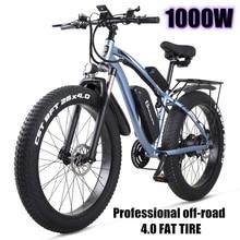 electric bike 1000W Snow bike Electric Bike Ebike 48 V electric bicycle Increase 26-inch fat tires bafang Electric machinery