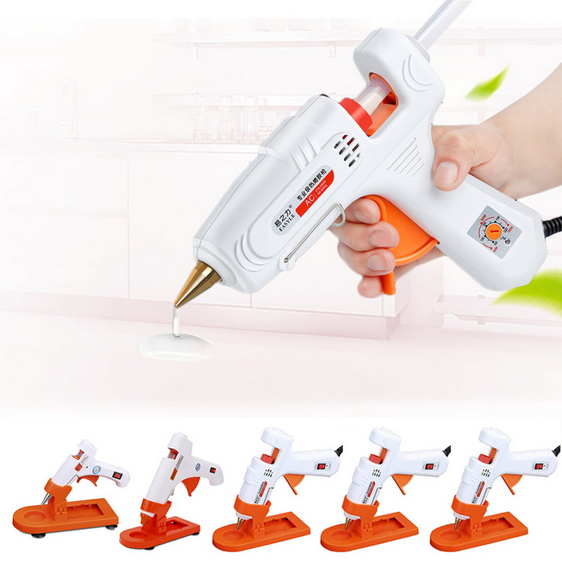 Hot Melt Glue Gun 30W/80W/100W/60-100W Professional High Temperature Hot Melt GlueRepair Tools Hot Glue Gun With Stick