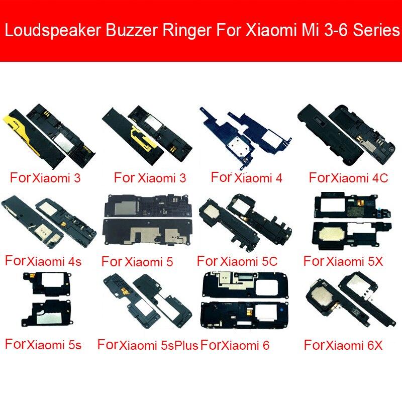 Loud Speaker Buzzer Module For Xiaomi Mi 3 4 4c 4i 4S 5 5c 5s 5X 6 6X Plus WCDMA CDMA 2000 TD-SCDMA Loudspeaker Ringer Parts