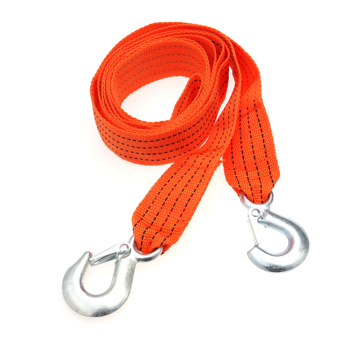 Trailer-Rope Durable for Car Truck SUV Ropes A30 3ton 2-Hooks Nylon Emergency-Kit Practical title=