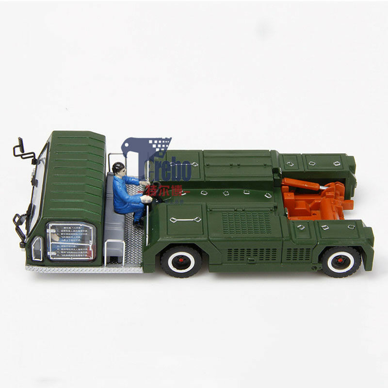 1/87 Military Aircraft Tractors Metal Truck Static Traction Model Vehicle Car