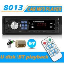 Mp3-Player Autoradio Multimedia Input-Receiver 1DIN Bluetooth SD Aux TF FM SWM USB 12v