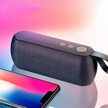 USB Portable Nirkabel Bluetooth Speaker Stereo Suara dengan Mic TF Kartu FM Radio AUX MP3 Musik Bermain Di Luar Ruangan Speaker Soundbar(China)