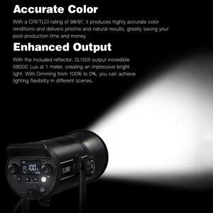 Image 3 - Godox SL150II SL 150W II LED فيديو ضوء 150W بوينس جبل النهار المتوازن 5600K 2.4G اللاسلكية X Systemfor مقابلة