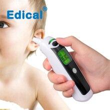 Edical температура уха лоб температура пистолет Электронный термометр контактный инфракрасный термометр Детский термометр