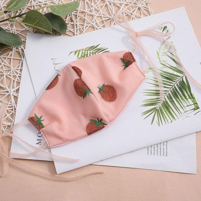 2020 Washable Reusable flowers Pattern Face Mask 3D Cloth Dust proof Women Men Mouth Masks Unisex Korean maschere mascatillas 2