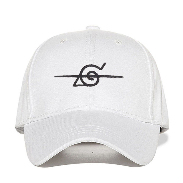 Naruto Cap Uchiha Uzumaki logo Cotton Snapback