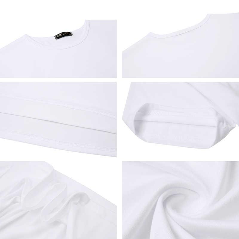 הגעה חדשה 2019 T חולצה ווג טי חולצה קוריאני אופנה בגדי Harajuku Kawaii לבן חולצת טי סופר אמא נשי חולצה אמא של