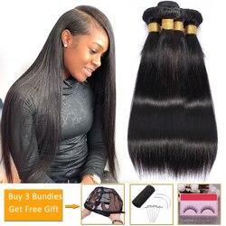 Оптовая продажа прямые волосы пряди дешевые человеческие волосы пряди предложения Non-Волосы Remy наращивания на заколках перуанские накладн...