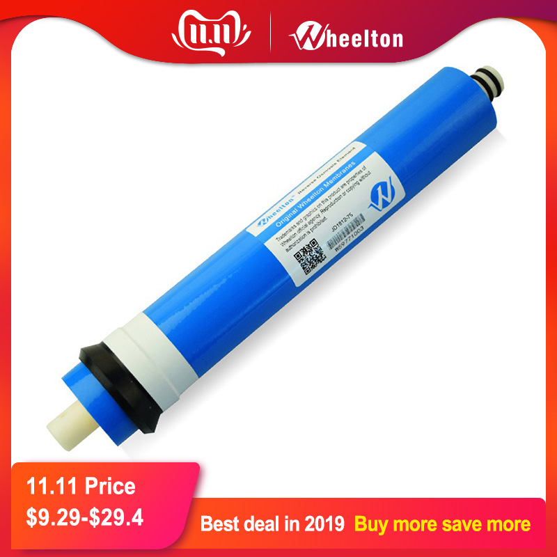 ( RUSSIAN WAREHOUSE)New 75 Gpd RO Membrane For 5 Stage Water Filter Purifier Treatment Reverse Osmosis System Free Shipping