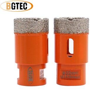 цена на BGTEC 2pcs Dia32mm Vacuum brazed diamond drilling core bits Granite marble ceramic drill bits M14 thread hole saw