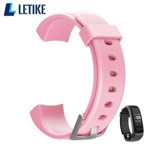 Image 1 - Letike GT101 Intelligente del braccialetto cinturino di ricambio Originale di Ricambio Cinturino Da Polso per GT101 Braccialetto Intelligente GT101 supplementare di ricambio