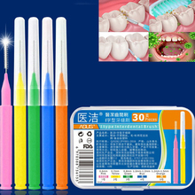 Teeth-Brush Floss Toothpick Oral-Care-Tool Clean-Hygiene Dental 30pcs/Lot