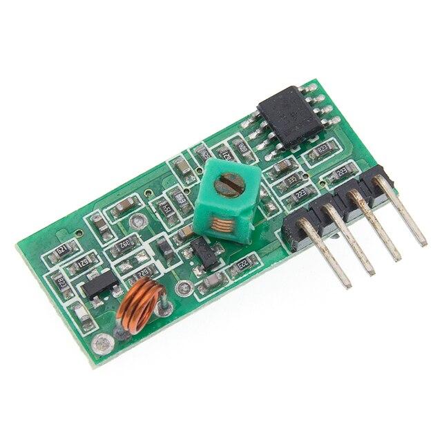 433Mhz RF bezprzewodowy moduł nadajnika i zestaw odbiornika 5V DC 433MHZ bezprzewodowy dla Arduino Raspberry Pi /ARM/MCU WL Diy Kit