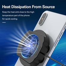 Mobile Phone Radiator Gaming Universal Phone Cooler Adjustable Portable Fan Holder Heat Sink For iPhone Samsung Huawei