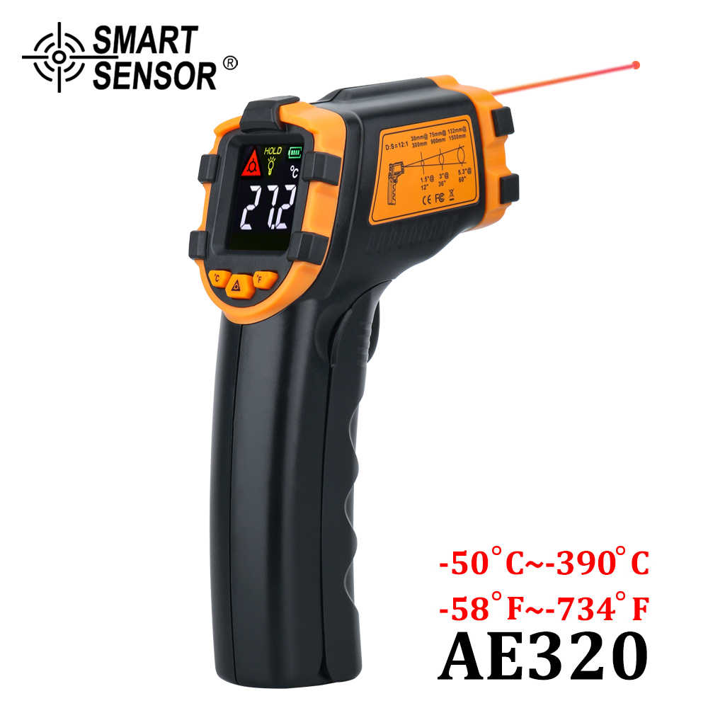 Non-Contact LCD IR Laser Infrared Temperature Thermometer Gun Pyrometers Hot