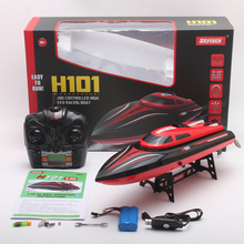 H101 RC Boat 2.4G 30km/h High Speed Racing Remote Control Ship Newest Speedboat RC Steerable Boat Outdoor For Boy Toys 2017 new rc boats remote control yacht model ship sailing plastic children electric toy high speed racing rc boat gifts toys