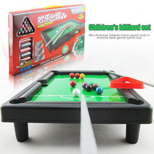 Mini Tafelblad Pooltafel Desktop Biljart Sets Kinderen Spelen Sport Ballen Sport Speelgoed Gift Family Fun Entertainment(China)
