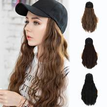 12x55cm/Noble Long Black Wig Deep Wave High Temperature Fiber Middle Part Heavy Density Lace Front Synthetic Wigs For Women/with(China)