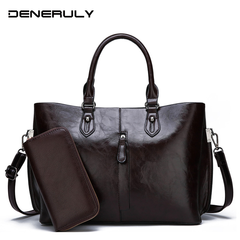 Bags Women Shoulder-Bag Quality High-Capacity Fashion Ladies Luxury Soft for New Bolsos