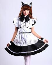 Новое поступление платье для косплея горничной женщин японского