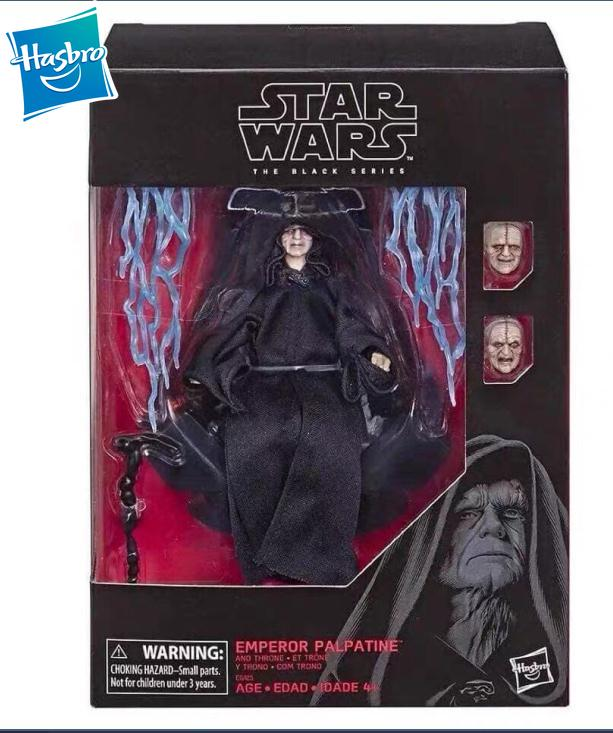 6 Inches Hasbro Star Wars Darth Sidious Sheev Palpatine Anime Action & Toy Figures Model Toys For Children With Box