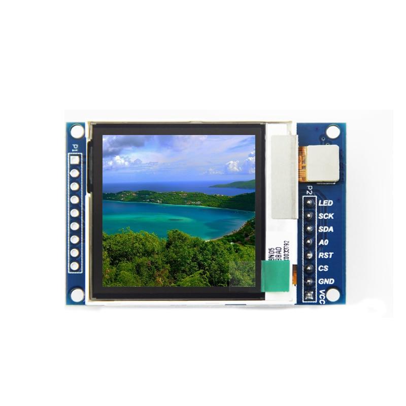 """1.6 Polegada oled 1.6 """"tft ips oled módulo de exibição transflective display lcd diy spi porta serial 130*130 comunicar para arduino"""