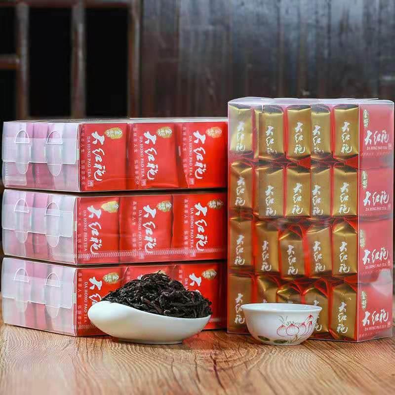 Oolong Tea Rock Tea Wuyishan Dahongpao Bubble Independent Packaging Box
